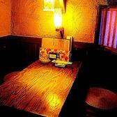 プライベート感満載の個室・・