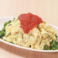 自家製明太子ポテトサラダ/ベーコンと玉子の自家製ポテトサラダ
