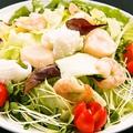 料理メニュー写真三九厨房海鮮サラダ