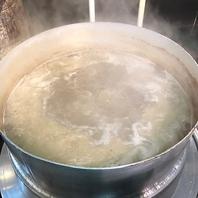 ラーメンはスープが命です!