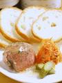 料理メニュー写真2、鶏白レバーのムース