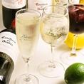 やや辛口の優しい泡の飲みやすいスパークリングワイン【ポールスター】が味わえます!