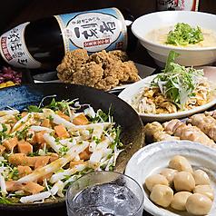 水炊き 焼鳥 とりいちず酒場 東久留米店のコース写真