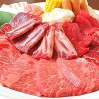 職人が一枚ずつ丁寧に手切りした厳選お肉をご堪能下さい