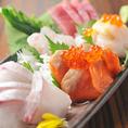 季節ごとに仕入れている旬の鮮魚もコース料理に盛り込まれております。