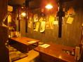 10名様前後収容の個室、バッチリご用意してます!プライベートなご宴会はコチラで。ご予約はお早めに…♪