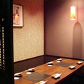 ご宴会にぴったりな個室。ご予約はお早めに