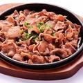 料理メニュー写真豚タン鉄板焼
