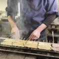 ◆職人がひとつひとつ丁寧に焼き上げて出来上がる鰻料理の数々。目の前で焼き上げた鰻をそのままお召し上がりいただけます♪〈新宿 居酒屋 和食 鰻 串 日本酒 焼酎 宴会〉