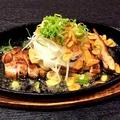 料理メニュー写真阿波尾鶏のガーリックステーキ