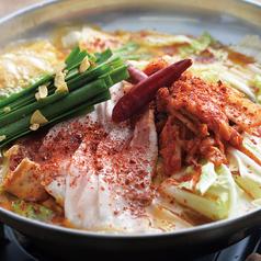 料理メニュー写真キムチ鍋