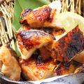 料理メニュー写真桜親鳥塩焼/桜親鳥柚子コショー焼/森林鳥の黒七味焼