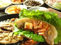 お肉が食べたいあなたへ♪厚切りサムギョプサルが大人気