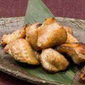 阿波尾鶏のぼんじりの煙焼き。