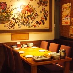 人気のテーブル席!女子会・合コン、会社宴会