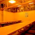 [3F]最大40名様までOKの大宴会場お座敷空間!貸切は20名様~OKなので、ごゆっくりとお寛ぎいただけます!!