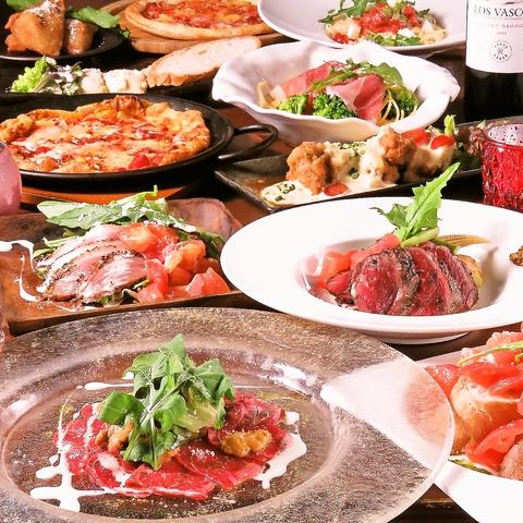 幻の純黒豚や宮崎牛などのグリルとワインに合う小粋な前菜達が楽しめる大人の隠れ家