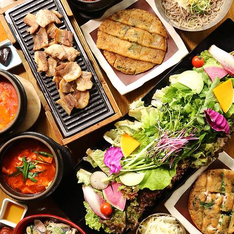 韓国料理 サムギョプサルと野菜 いふう 銀座マロニエゲート1店