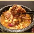 料理メニュー写真米沢豚と大豆のスパイス煮