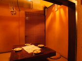 囲炉裏付き個室