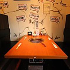 ☆人気のテーブル席☆ゆったりと寛いでいただけます。