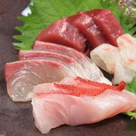 毎日必ず仕入れてるこだわりの旬な鮮魚◆