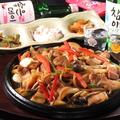 料理メニュー写真サムギョプサル鉄板焼き