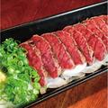 料理メニュー写真桜肉タタキ