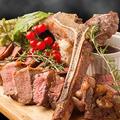 料理メニュー写真【2種の部位が楽しめる!】Tボーンステーキ