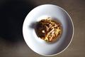 料理メニュー写真イタリア産ポルチーニ茸のラグー 手打ちタリアテッレ 秋トリュフの香り