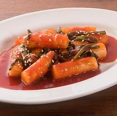 料理メニュー写真韓流屋台トッポギ