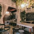 ◆はなれにある煉瓦倉庫は、少人数の宴会にもおすすめ!デートやちょっとしたお食事使いにも。