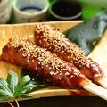 料理メニュー写真肉巻味噌たんぽ(1本)