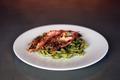 料理メニュー写真赤海老とジャガイモのトロフィエ(ショートパスタ)ジェノベーゼソース