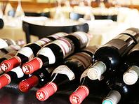 各種ワインをそろえております