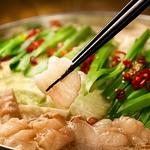 自慢のもつ鍋や季節のお料理を堪能できる飲み放題付きコース各種★