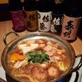 料理メニュー写真鶏すき鍋 2人前(塩・味噌・うま辛)