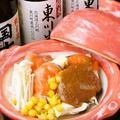 料理メニュー写真農水省郷土料理百選に選ばれたユックの鮭のちゃんちゃん焼き…北海道の伝統的漁師料理