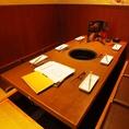 気心知れた仲間との焼肉宴会やご家族・合コンなど、多様なシーンで使える半個室席です☆