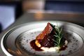 料理メニュー写真備前黒牛スネ肉の赤ワイン胡椒煮込み ペポーゾ