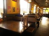 お友達とのお食事にもぴったりなテーブル席お腹いっぱい食べて満足しよう!