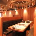 ソファ席あり!居心地の良い雰囲気と共美味しいお料理をご堪能ください。