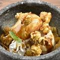 料理メニュー写真ひんやり石焼きキャラメルパフェ
