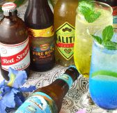 60種類以上のアルコール&ソフトドリンク