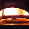 約400℃の釜で焼き上げるからこそのこのピザの味!