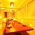 10/20/30名様用など宴会個室多数完備!素敵なお席をご用意させていただきます♪