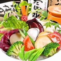 広島産の新鮮野菜をふんだんに使用!和-ニャカウダ780円