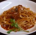 料理メニュー写真牛肉の煮込み生パスタ(タリアテッレ)