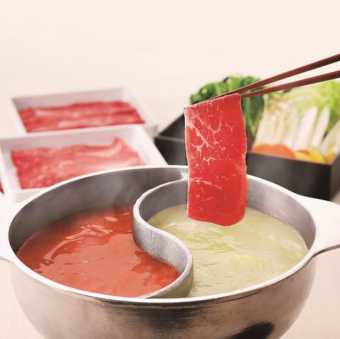 一番人気はしゃぶしゃぶとお寿司などが食べ放題の「さとしゃぶプレミアムコース」