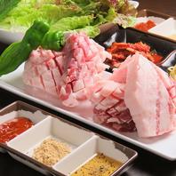 肉が旨い!韓国式で食べるカルビやサムギョプサル